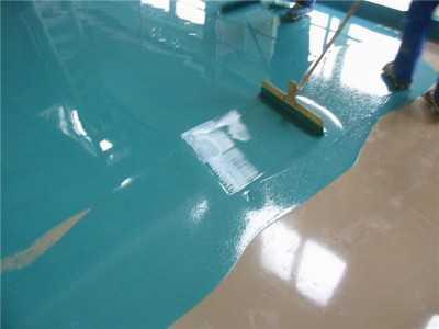 Акриловая краска для бетонных полов
