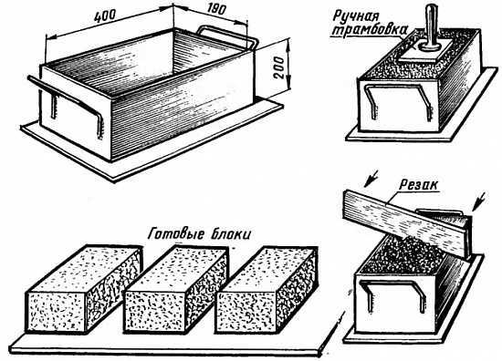 Блоки изготовить своими руками 1149