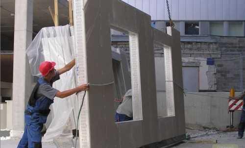 Панели с окном жби плиты перекрытий размеры дома