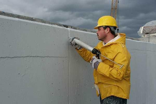 Герметизация швов цементным раствором