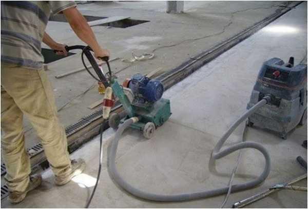 Фрезеровка бетона своими руками