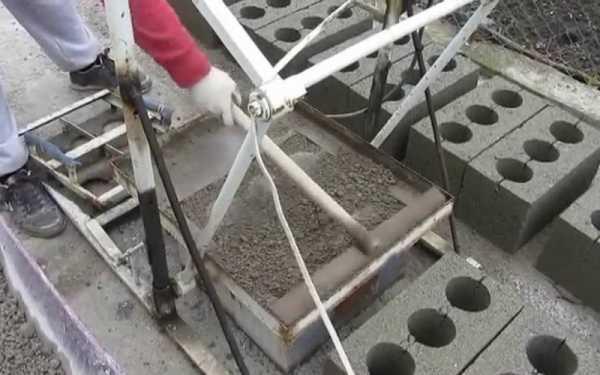 Как сделать строительные блоки своими руками