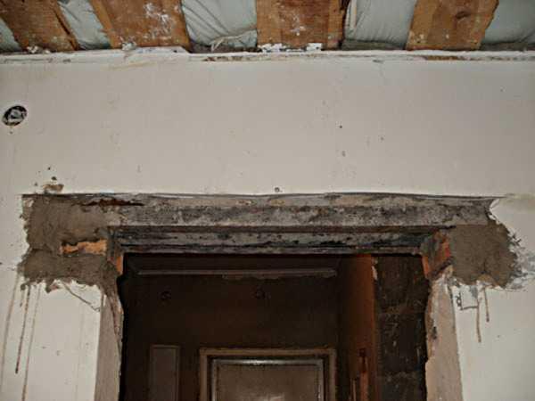 Демонтаж дверного проема своими руками 82