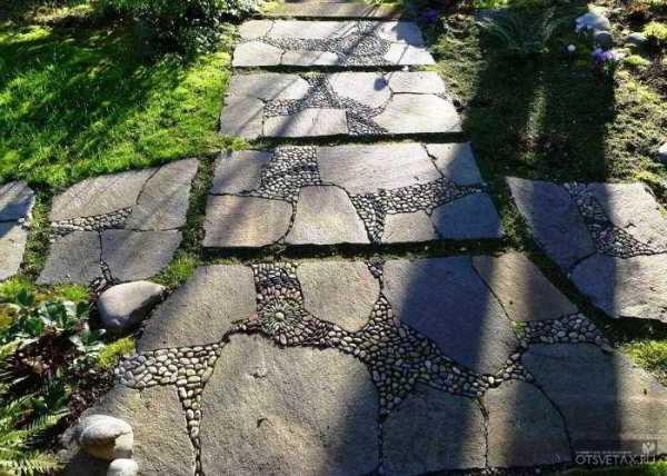 Садовые дорожки из бетона своими руками с малыми затратами фото 11