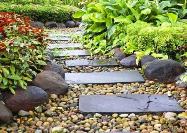 Садовые дорожки из бетона своими руками с малыми затратами фото 33