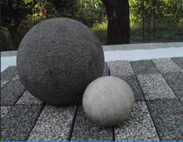 Как сделать бетонные шары своими руками 95