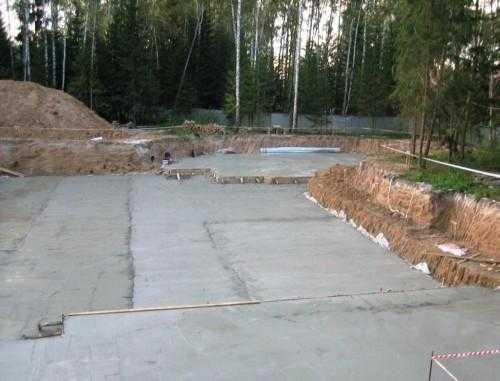 Баня постройка фундамента в Люберцах