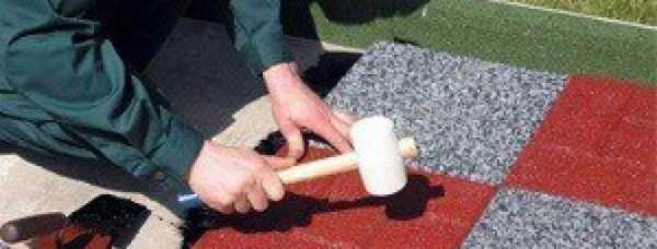 Как сделать резиновую крошку своими руками 83
