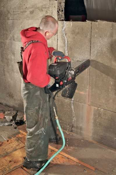 инструмент ручной резки бетонных стен