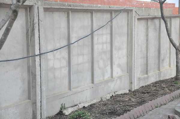 Как самим сделать бетонный забор 389