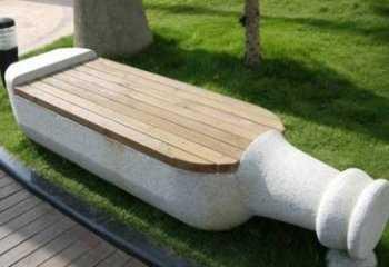 betonnye-skamejki_8 Варианты столов и скамеек для дачи. Скамейка из бетонных плит и досок со спинкой. Скамейка для дачи: инструкция для изготовления
