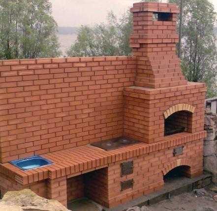 Бетонный камин конструкция из бетона открытый вариант на улице камин из бетонных колец