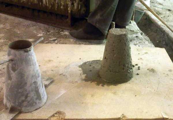 смеси бетонные марка по удобоукладываемости