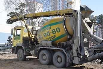 Бетона машины флешка бетон