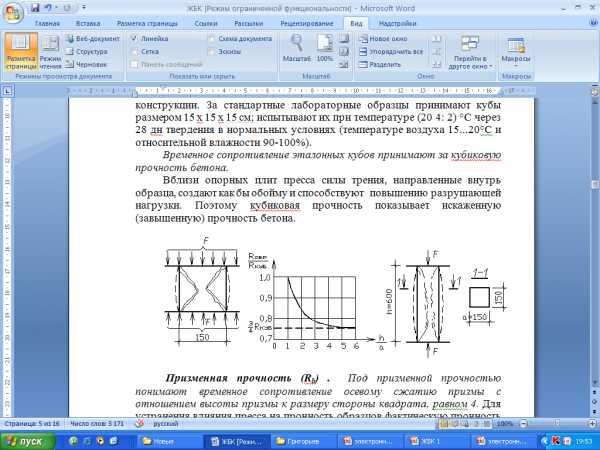 Разрушение кубика бетона купить круг для шлифовки бетона на болгарку 125
