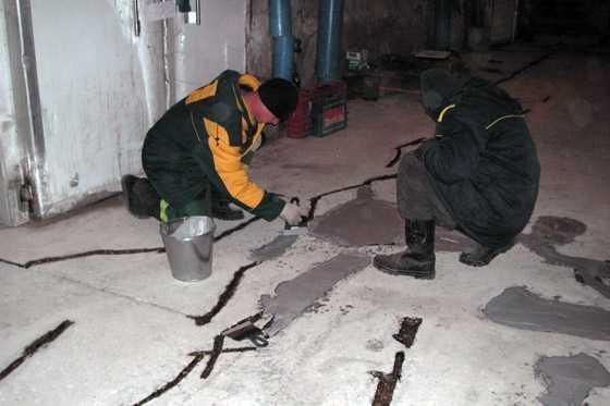 Состав смеси бетонного пола к строительным растворам специального назначения не относятся