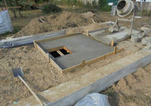 Заливка бетоном пазух саморезы бетону